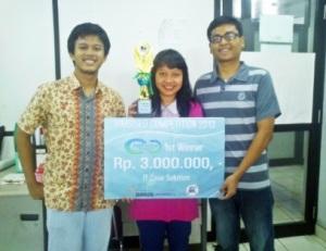 1st winner- ITCASO Binus 2013